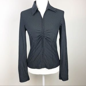 Express | Long Sleeve Pinstripes Shirt